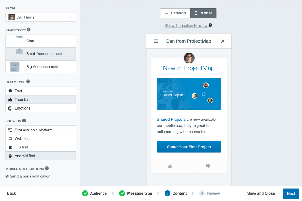 Intercom SaaS Platform